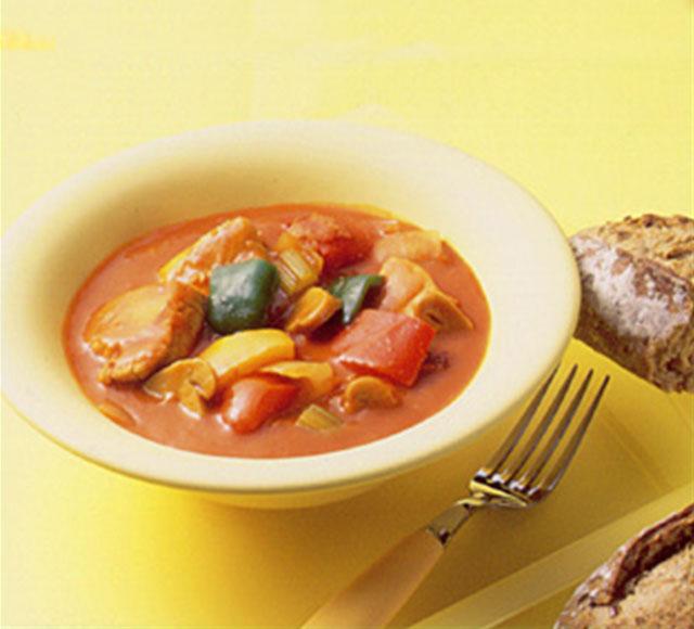 スープ トマト チキン 鶏肉のトマト煮の献立|チキンのトマト煮に合う副菜&スープ10選